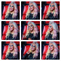 Christina Aguilera - The Voice 26 November 2012