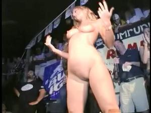 Amateur Naked On Stage