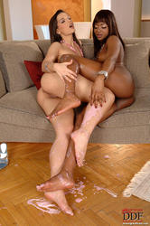 EveAngelOfficial - Jasmine & Eve Angel - Chocolate Feet *December 7, 2011*