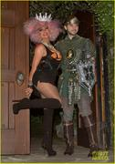 Christina Aguilera - Halloween party at her home in Beverly Hills 10/27/12
