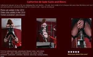 House of Gord: Catherine de Sade Sucks and Blows (4 Clip)